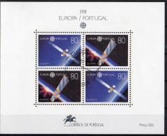 Europa CEPT - 1991   PORTUGALLO  BF Usato / Used - Europa-CEPT