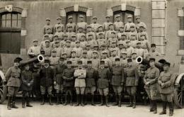 81463 - Carte Photo   Regiment  Militaire    N° 181  Et Ses Canons - Reggimenti