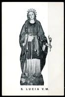 Santino - Santa Lucia M.V. - Preghiera. - Santini