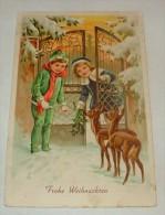 AK  Kinder / Frohe  Weihnachten( OR 1 )DH - Noël