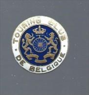 """Boutonnière """" Touring Club De Belgique """" - Pin's"""