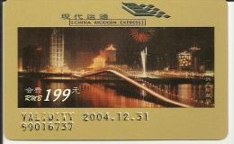 Chine China 2004 Modern Express Highway Avec Pont Macao Bridge MNH ** - China