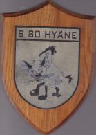 S 80 Hyäne - Scnellboot Marine Navy - Allemagne Germany Deutschland - Tape De Bouche Sur Bois - Navy