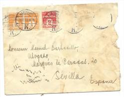 Sobre Con Matº Kobenhavn Destino Sevilla - Cartas