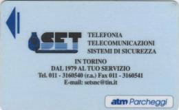 *ITALIA -  PARKING CARD - TORINO* - Usata - Other Collections