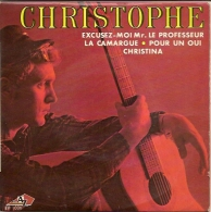 Christophe 45t. EP *excusez-moi Mr Le Professeur* - Dischi In Vinile