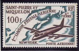 SAINT PIERRE & MIQUELON 1964 - Poste Aérienne N° 31 - Neuf** - Très Beau (scan Recto Et Verso) - Nuevos