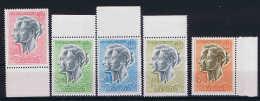 Monaco 1971 Mi Nrs 844 - 846 + 878 + 1021 MNH/** - Ungebraucht
