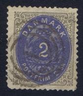 Denmark: 1870, Mi Nr 16 I A A Ultramarine Used - 1864-04 (Christian IX)
