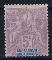 Madagascar 1896, Yv Nr 42 MNH/** - Madagascar (1889-1960)