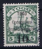 Togo, Yv 24 B Obl / Used - Togo (1914-1960)