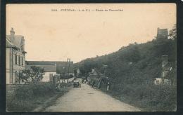 FRÉTEVAL - Route De Courcelles - France