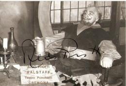 6593/A/FG/14 - LIRICA - CANTANTE ALDO PROTTI - Cremona Teatro Ponchielli con autografo