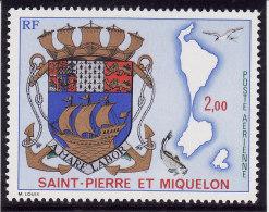SAINT PIERRE & MIQUELON 1974 - Poste Aérienne N° 58 - Neuf** - Très Beau (scan Recto Et Verso) - Nuevos