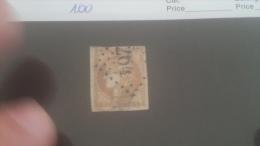 LOT 228770 TIMBRE DE FRANCE OBLITERE N�43B VALEUR 100 EUROS