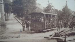 CPA  Namur-Citadelle - Tramway - Li tienne des biches - sortie du tunnel  1933
