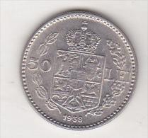 Bnk Sc Romania 50 Lei 1938 Excellent Condition - Romania
