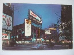 G84 Postcard New York - Time Square - Time Square