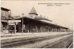 Altmunsterol - Montreux-Vieux - Bahnhof - La Gare - France
