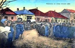 Slowakei-Slovakia, Humenné - Homonna 1915, Rusi V Meste, Reproduction - Slovakia