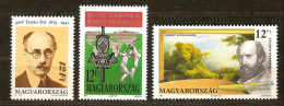 Hongrie Ungarn Hongarije 1991 Yvertn° 3322-24 *** MNH Cote 4,50 Euro - Hungría