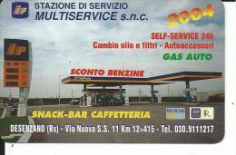 CAL523 - CALENDARIETTO 2004 - STAZIONE DI SERVIZIO IP - DESENZANO (BS) - Calendari