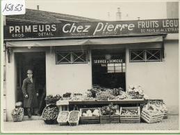 Lausanne : Primeurs Chez Pierre  Format 13.8/10 à Situer.coin Droite En Bas Sur Vue Verso (Garraux.Lausanne - VD Vaud