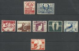 RUSSIA..MIX. SET..MH. - 1917-1923 Republic & Soviet Republic