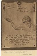 Monceaux Sur Sambre Plaque Assassinat Yvonne Vieslet Ecole Communale Guerre 1914 WWI - Belgique