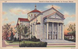 Illinois La Grange Church Of Saint Francis Xavier - Vereinigte Staaten
