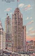 Illinois Chicago The Tribune Tower 1943 - Chicago