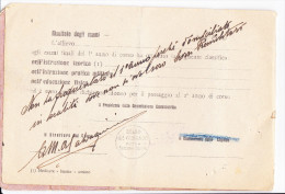 LIBRETTO PERSONALE MILIZIA VOLONTARIA SICUREZZA NAZIONALE 49° LEGIONE - Documenti