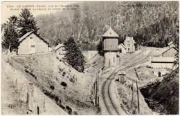 Le Lioran - Vue De L'ouest Et De L'est Depuis La Route Au Dessus Du Tunnel De La Voie (chemin De Fer) - France