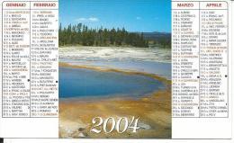 CAL595 - CALENDARIETTO 2004 - ANONIMO - ED. ANCORA - Calendari