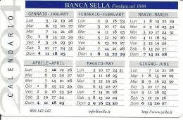 CAL597 - CALENDARIETTO 2004 - BANCA SELLA - Calendari