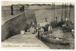LE CROISIC. - L'Embarcadère Pour Pen-Bron - Le Croisic