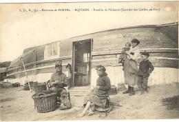 62-  Pas de Calais _  Equihen - famille de P�cheurs (quartier des Quilles en l'Air )TB