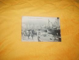 CARTE POSTALE ANCIENNE CIRCULEE DE 1914. / 42.- CAEN (CALVADOS). - VUE GENERALE DU PORT / CACHET. - Caen