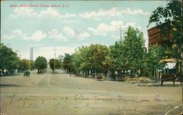 ETATS-UNIS AIKEN / Main Street Scene / - Aiken