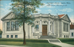 ETATS-UNIS AUSTIN / Carnegie Library / - Austin