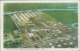 ETATS-UNIS BEAUMONT / Aeroplane View, Magnolia Refinery / - Etats-Unis