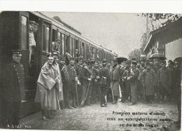 Prisonniers Sanitaires Allemands Remis Aux Autorités Suisses Par Français 1916 Train Cachet Camp Prisonnier PK Mulhouse - GE Geneva