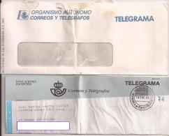 Doc Antiguo, TELEGRAMA De Miranda De Ebro, 14 Enero 1995 - Documentos Antiguos