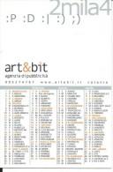 CAL609 - CALENDARIETTO 2004 - ART&BIT AGENZIA DI PUBBLICITA' - CATANIA - Calendari