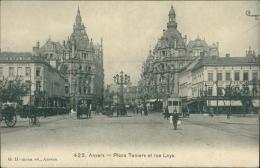 BELGIQUE ANVERS / La Place Teniers Et Rue Leys / - Belgique