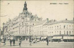 BELGIQUE ANVERS / La Place Teniers / - Belgique