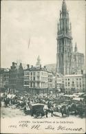 BELGIQUE ANVERS / La Grand'Place Et La Cathédrale / - Belgique