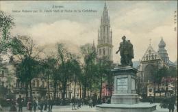 BELGIQUE ANVERS / Statue Rubens Et Flèche De La Cathédrale / - Belgique