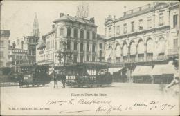 BELGIQUE ANVERS / Place Et Pont De Meir / - Belgique