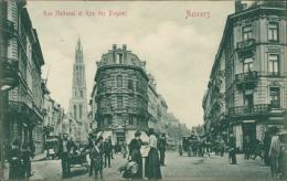 BELGIQUE ANVERS / Rue Nationale Et Rue Des Peignes / - Belgique